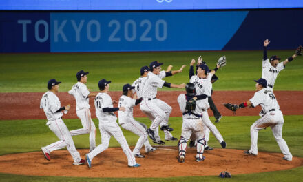 Japan beats US 2-0 to win 1st Olympic baseball gold medal